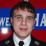 Andre Bieber, Beisitzer der Freiwilligen Feuerwehr Hausen