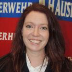 Annika Lutz, Jugendwartin Freiwilligen Feuerwehr Hausen