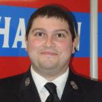 Christoph Ullmann, 2. Kommandant der Mannschaft der Freiwilligen Feuerwehr Hausen