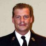 Jochen Nürnberger, Gruppenführer der Mannschaft der Freiwilligen Feuerwehr Hausen