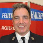 Jürgen Rollmann, Vertrauensmann der Freiwilligen Feuerwehr Hausen