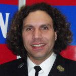 Mario Rösner, Gruppenführer der Mannschaft der Freiwilligen Feuerwehr Hausen