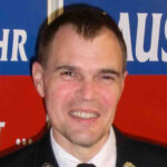 Martin Müller, Sicherheitsbeauftrager der Freiwilligen Feuerwehr Hausen