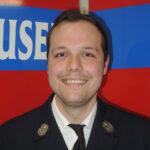 Maximilian Fichtl, Kassierer der Freiwilligen Feuerwehr Hausen