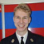 Michael Bomblies, 2. Jugendwart der Freiwilligen Feuerwehr Hausen