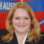 Sarah Metz, Vertrauensfrau der Freiwilligen Feuerwehr Hausen